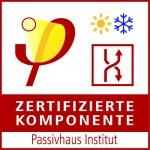 Zertifizierte Passivhaus-Komponente