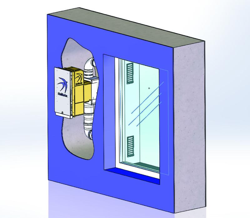 Fensterleibungslüftung