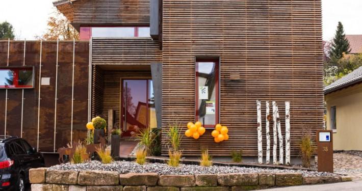 Wohnraumlüftung in Passivhaus-Neubau