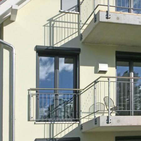 Kontrollierte Wohnraumlüftung kfw-40 Haus