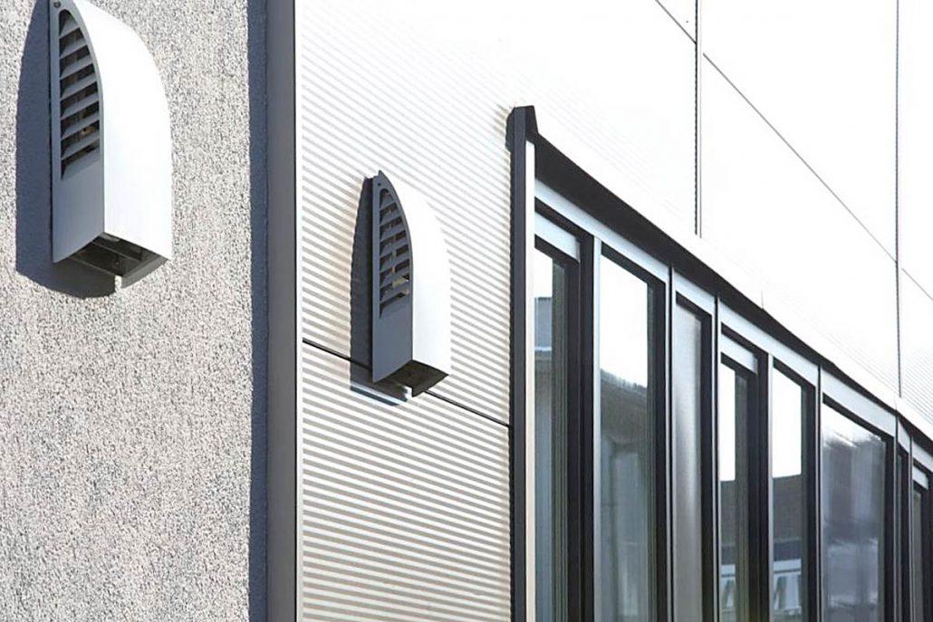 l ftungsanlage freeair in gewerbebau in frickenhausen. Black Bedroom Furniture Sets. Home Design Ideas