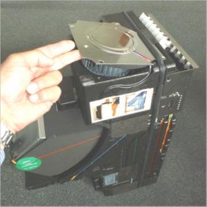 freeAir 100 Lüftung Lüfterplatte anheben und lockern