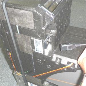Wohnraumlüftung freeAir 100 Betrieb außerhalb des Mauerkastens mit einem Gerätenetzkabel