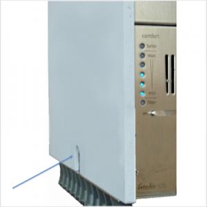Lüftungsgerät freeAir 100 Knopf lange gedrückt halten