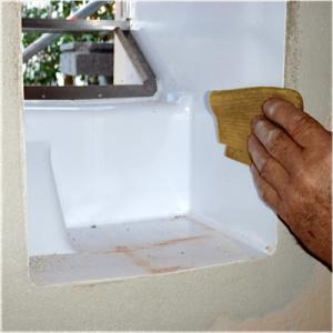 Lüftung free Air 100 Mauerkasten und Außenhaube reinigen