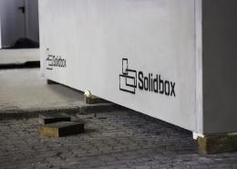 Logo auf fertigem Bauteil von Solidbox