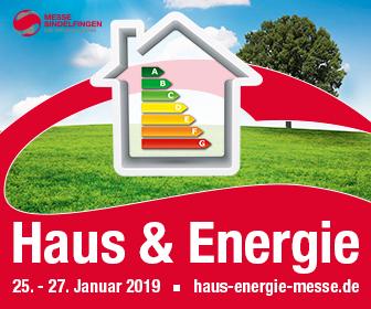 Haus und Energie 2019 Messe Sindelfingen