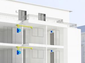 BIM-Daten für Wohnraumlüftung freeAir