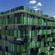 Lüftungsanlage in neuem Apartmenthaus mit hohem Schalldämmwert
