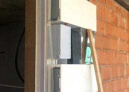 Rohbaubeispiel einer Fensterlaibung