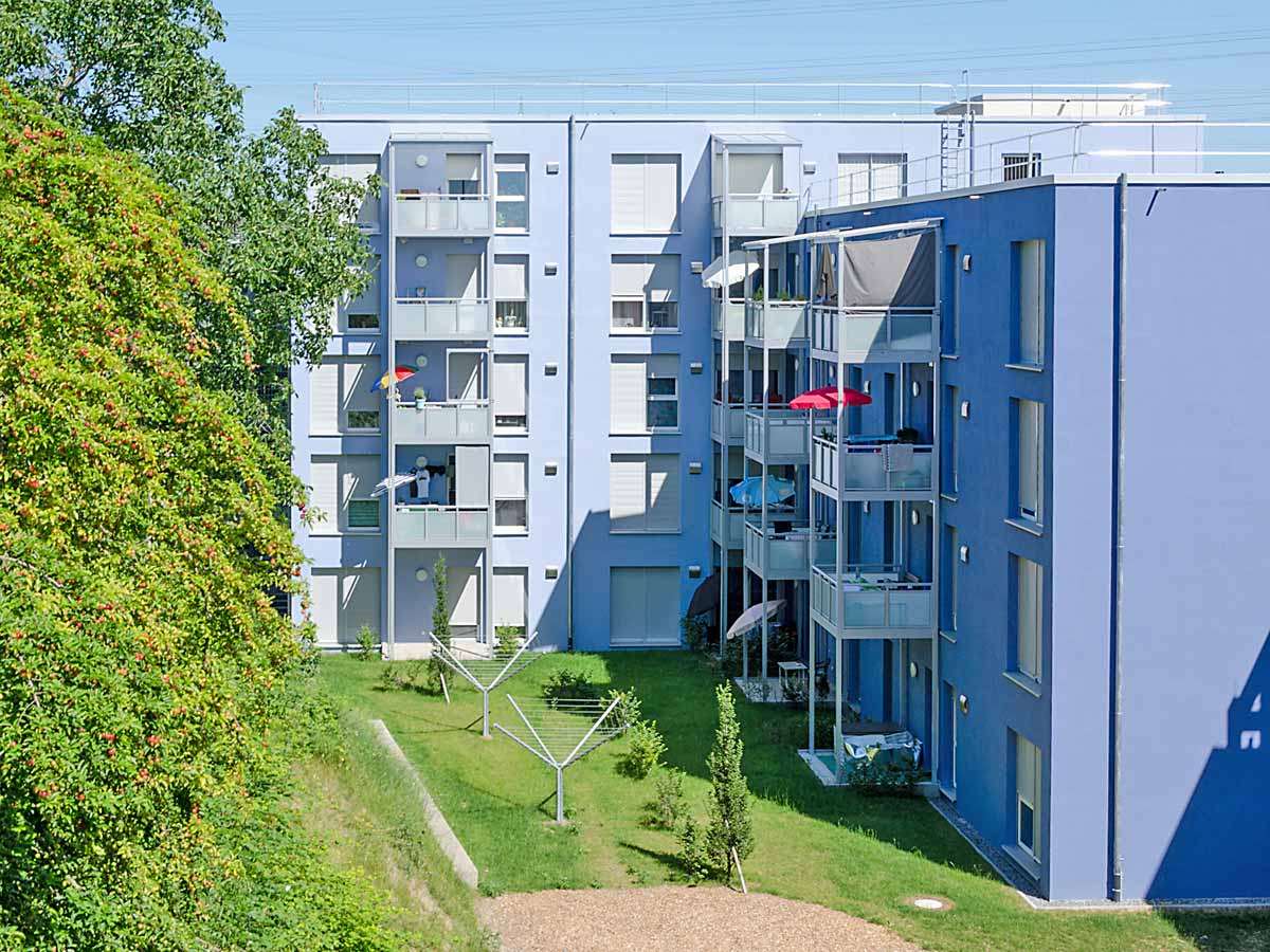 Wohnraumlüftung im Geschoss-wohnungsbau