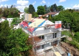 Beginn der Sanierungs- und Modernisierungs Maßnahmen bei diesem Einfamilienhaus in Mühlacker