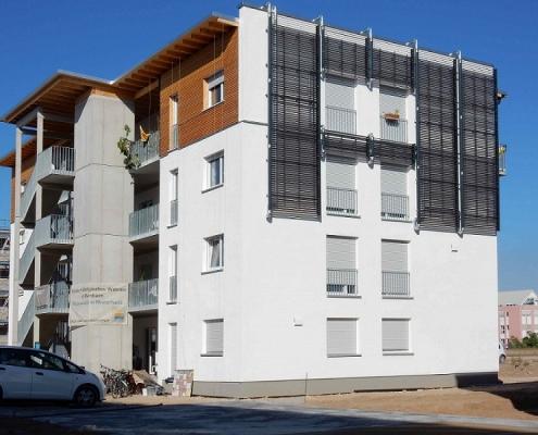 Mannheims höchstes Mehrfamilienhaus aus Holz erreicht hohe Energieeffizienz. Mit an Bord ist das Lüftungssystem von bluMartin