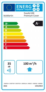 Hohes Schalldämmmaß wird gleichzeitig mit geringer Schallemmission erreicht mit dem energieeffizienten Lüftungsgerät freeAir