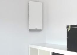 Das Wohnungszentrale Lüftungsgerät freeAir sichert die Frischluftversorgung im höchsten Holzhaus Mannheims.