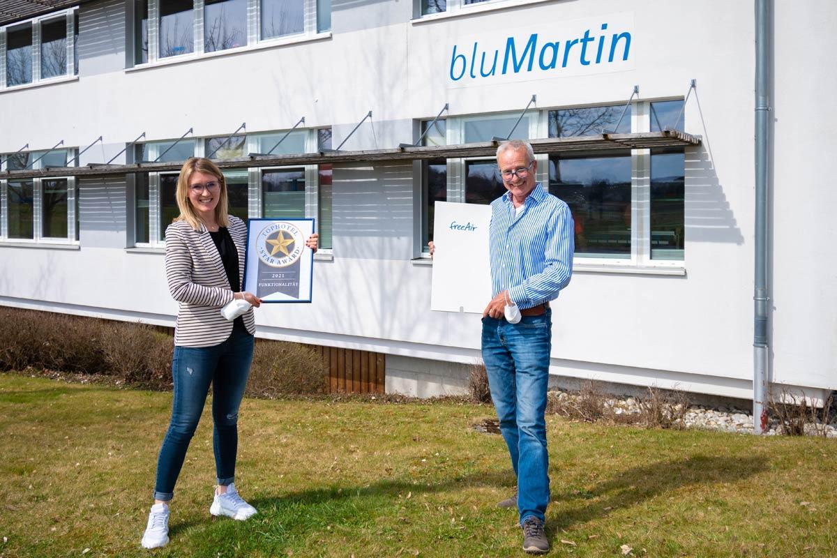 Gewinner Star Award für Lüftungsanlage freeAir