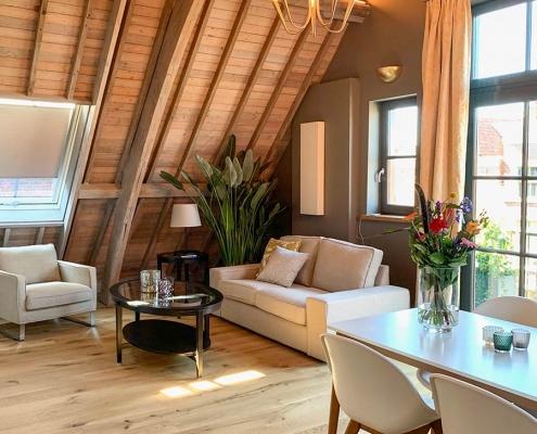 Druchatmen direkt im Zentrum von Leiden in dem liebevoll renovierten, 300 Jahre alten Gebäude