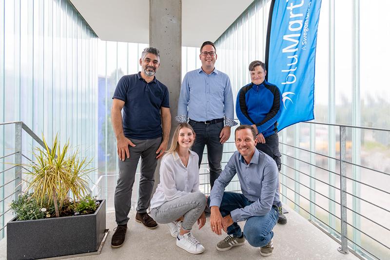 Das bluMartin Service-Team