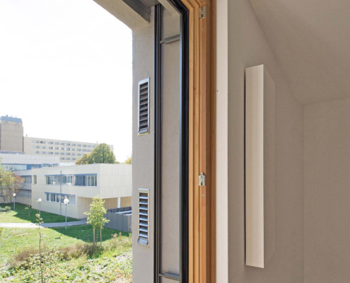 Lüftung Fensterlaibung